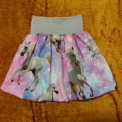 Dívčí balónová sukně - Pampelišky
