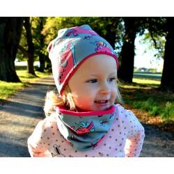 Dětská čepice - JEDNOROŽCI