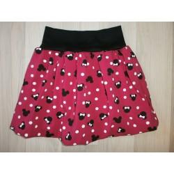 Dívčí balónová sukně - Miky mašlička