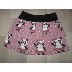 Dívčí balónová sukně - Pandy